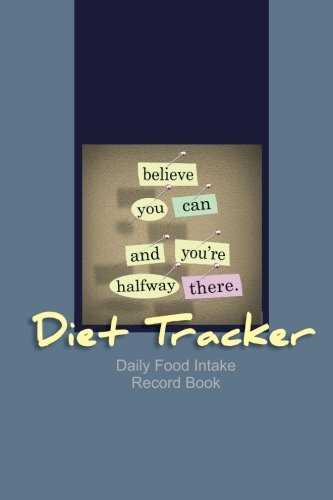 Diet Tracker: Daily Food Intake Record Book