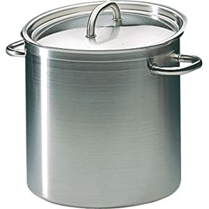 Matfer Bourgeat 694024 Excellence Stockpot without Lid, 9-1/2-Inch, Gray by Matfer Bourgeat