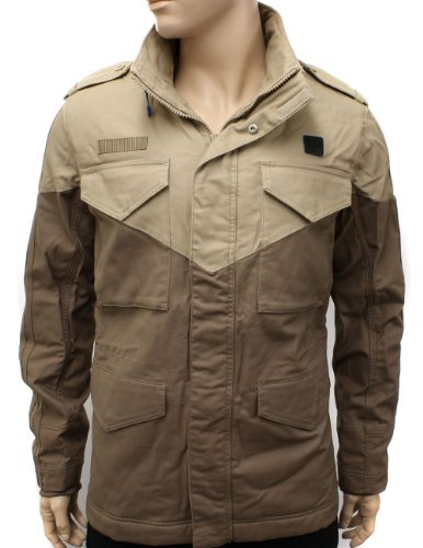 Adidas Originals M65 Military Sheep Skin Lined Khaki Winter Jacket Coat - Mens - L