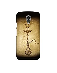 Motorola Moto G2 nkt02 (90) Mobile Case by Mott2 - Ancient Hookah Style - Seesha (Limited Time Offers,Please Check the Details Below)