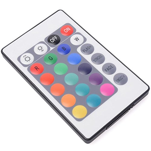 Dn 24 Key Ir Remote Controller For Rgb 3528 5050 Led Strip Light With Battery