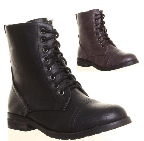 Awesome Womens Combat Style Boots  The Style Basket