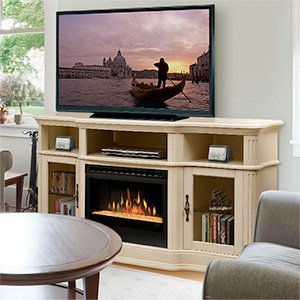 Dimplex Portobello Electric Fireplace Media Console in in Parchment image B008LBEMX6.jpg