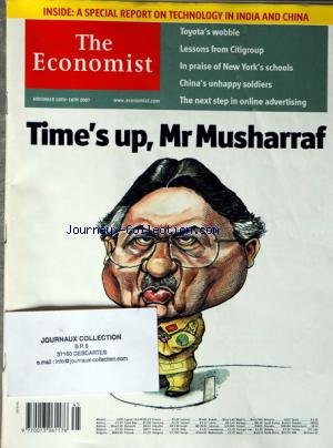 economist-the-no-45-du-10-11-2007-times-up-mr-musharraf-a-special-report-on-technology-in-india-and-