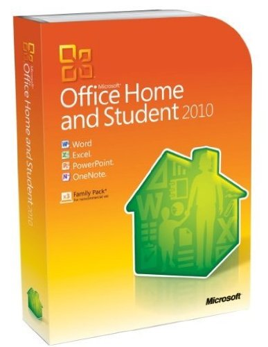 Microsoft Office Home & Student 2010 (3Pcs)