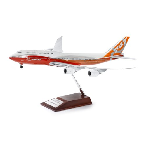 747-8 Intercontinental Sunrise Livery Snap-Together Model