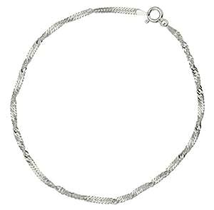 Bracelet de cheville - K41094 - Femme - Chaîne - Argent 2.28 Gr
