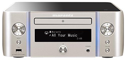 marantz ネットワークCDレシーバー DSD ハイレゾ Bluetooth Airplay ワイドFM 対応 シルバーゴールド M-CR611/FN