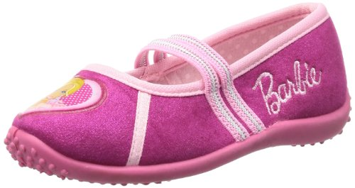 Barbie kids houseshoes BA550051, Pantofole Ragazza, Multicolore (Mehrfarbig (FUXIA/PINK)), 29