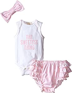 kate spade york Baby Girls The-Sweetest-Thing Set, Cotton Candy, 3 Months from Tawil & Associates