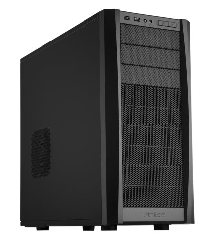 Antec Three Hundred Two Gaming Case, Black (Antec Twocool 140mm Cooling Fan compare prices)