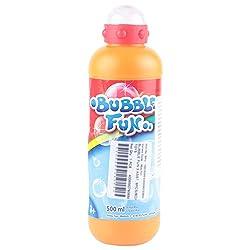 Simba Bubble Fun Bubble Liquid, Multi Color (500ml)
