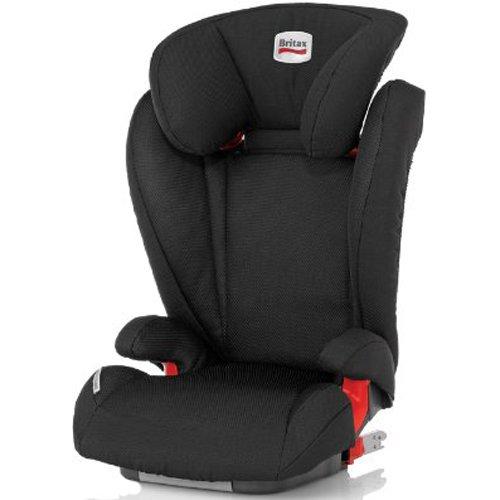 Britax Kidfix Group 2-3 Isofix Car Seat (Jet)