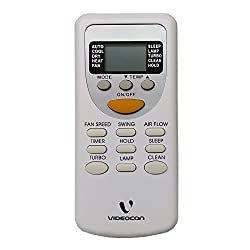 Compatible Videocon AC Remote (ZH/JT-03 ONLY) (White) (SP)