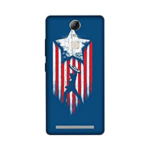 StyleO Lenovo Vibe K5 NOTE Designer Printed Case & Covers (Lenovo Vibe K5 NOTE Back Cover) - Superhero Captain America