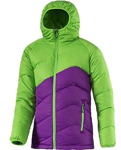 McKinley Mädchen Jacke Henley, 100% Polyester, Purple/Grün