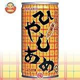 サンガリア ひやしあめ 190g 缶×30本