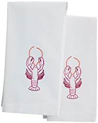 Martha Stewart Crafts Tea Towels, Lobster