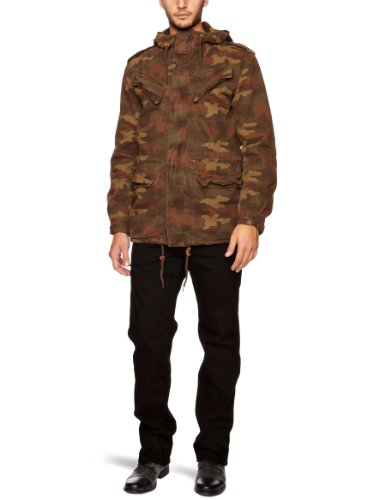 French Connection Rotatopnal Men's Jacket Camouflage Large