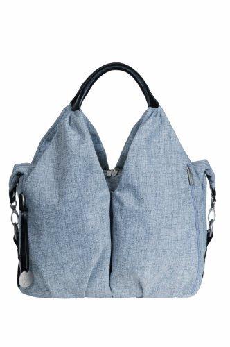 Lassig Green Label Neckline Changing Bag (Black Melange) by Lassig