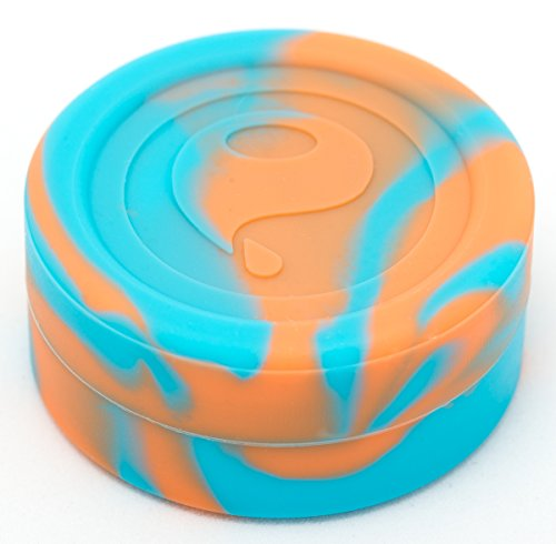 Oil Slick Stacks Platinum Cured Medical Grade Silicone Containers, Set of 3 (Classic Sherbet Set) (Oil Slick Container compare prices)