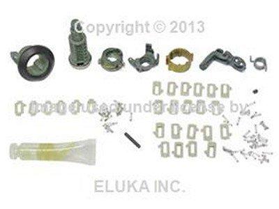 BMW Genuine Front Left Door Handle Lock Cylinder Repair Kit for 318i 318is 325e 325i 325ix (E30 Door Handle Left compare prices)