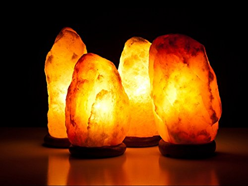Salt Lamps Safe For Pets : JIC Himalayan Salt Lamps Halite Salt Lamp Ionic Air Purifier-6-8