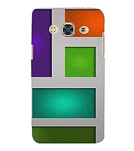 PrintVisa Box Pattern 3D Hard Polycarbonate Designer Back Case Cover for SAMSUNG GALAXY J3 PRO