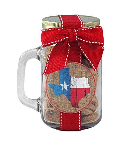 Texas Nam's Bits Chocolate Chip Cookies - 5oz Glass Mason Jar