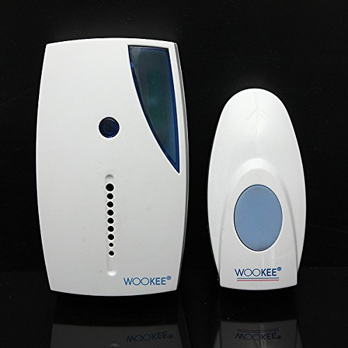 32 Tune Songs Mini Led Wireless Chime Doorbell Remote Control