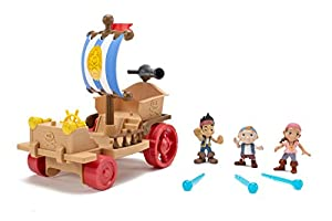 Disney's Jake and the Never Land Pirates Never Land Sailwagon by Fisher-Price