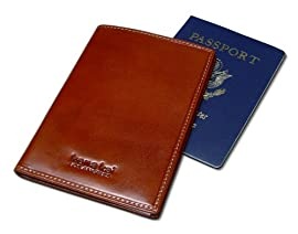 DataSafe Italian Leather Passport Security Wallet
