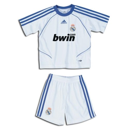 Real Madrid 07/08 Home Mini Soccer Kit