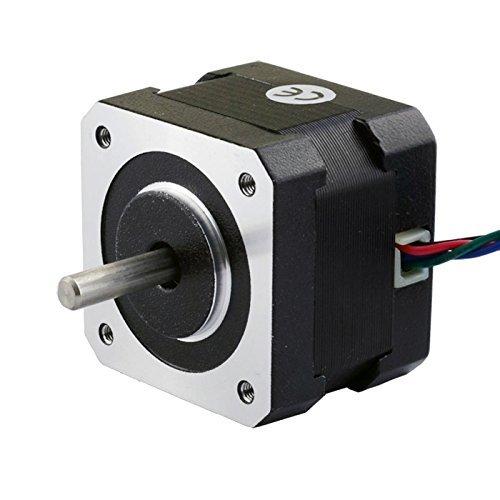 Stepping Motor Nema 17 Stepping Motor 26Ncm(36.8oz.in) 12V 0.4A 3D Printer CNC (Motor 12v compare prices)