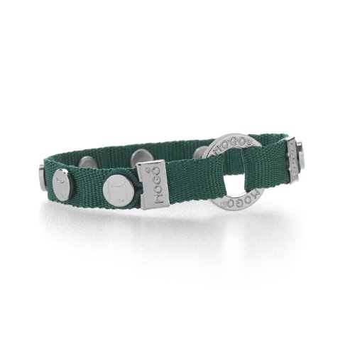 Mogo Design Charmband in Dark Green