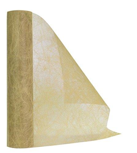 DIGE n27we01b/79 - Chemin de table ECO en tissu non tissé, ivoire