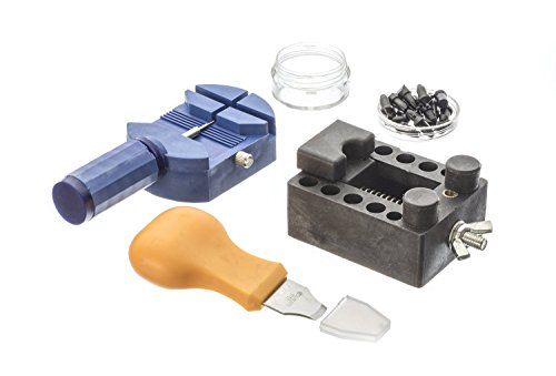 watch repair tool set of 13 w case bag case opener screwdriver fix kit clock ebay. Black Bedroom Furniture Sets. Home Design Ideas