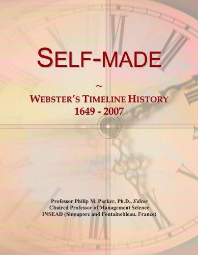 Self-made: Webster's Timeline History, 1649 - 2007