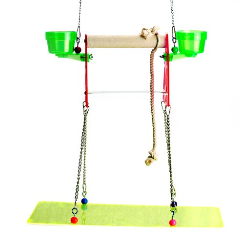 Image of Polly's Suspended Bird Stand, Large (B009P4Q8D0)