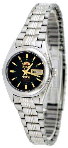 Orient #BNQ1X001B de la estrella de las mujeres con esfera de color negro reloj automático
