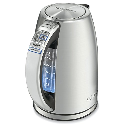 Cuisinart CPK-17 PerfecTemp 1.7-Liter Stainless Steel Cordless Electric Kettle (Best Selling Tea Kettle compare prices)