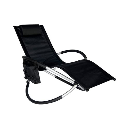 Amazon Outdoor Zero gravity Patio Chair Orbital Lounge Chair Black
