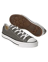 Converse Chuck Taylor All Star Lo Top Charcoal Canvas Shoes