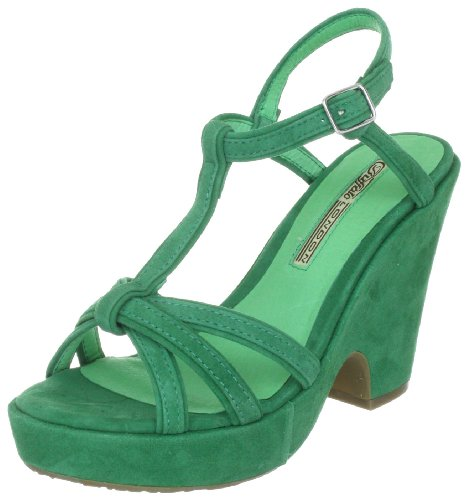 Buffalo 127588 Women's Sandals Green (GREEN128) 38