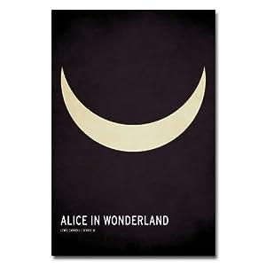 Trademark Fine Art Alice in Wonderland by Christian Jackson Canvas Wall Art, 30x47-Inch