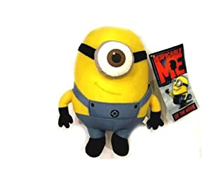 WAWO Despicable Me Minion Stewart Plush Figure Cartoon Toy Great Gift