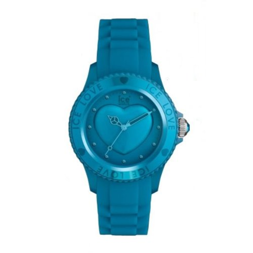 Ice-Watch Ice-Love Aber Blue Small Women's Silicone Watch LO.FB.S.S