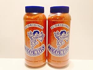 Miguelito El Original Chilito En Polvo Mexican Candy Chili Powder 2 Bottles 950g Each
