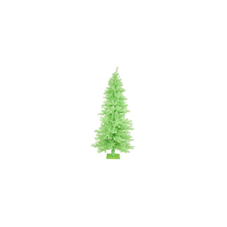 Chartreuse Wide Cut 90 Artificial Christmas Tree