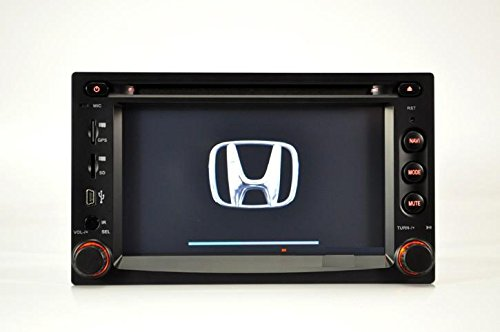 Car GPS DVD for Honda CRV FIT Jazz 1997-2005 Multimedia Headunit Sat Nav Player Built-in Bluetooth IPOD Radio RDS Reverse Camera Input